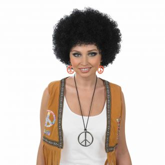 Small Black Afro Wig